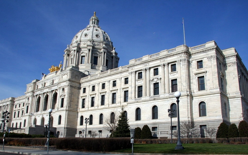 An image of the Minnesota State Capitol.