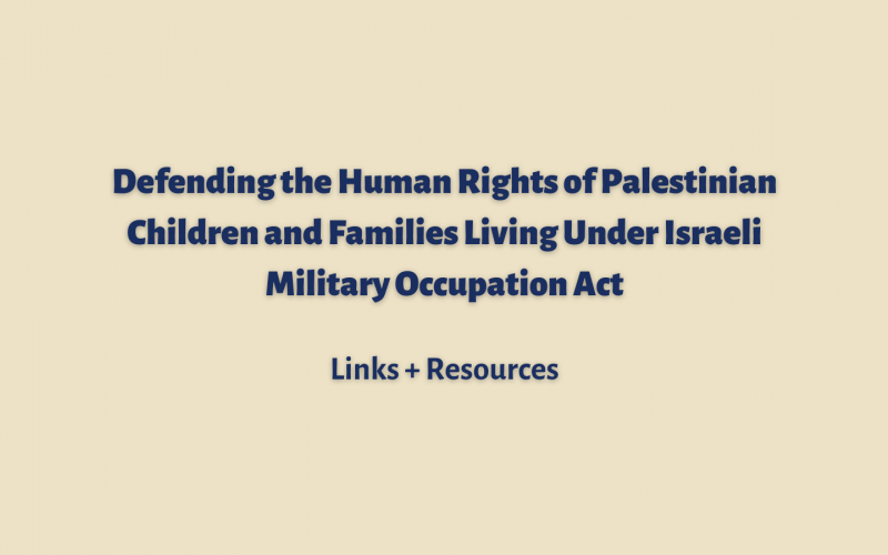 Palestinian Rights