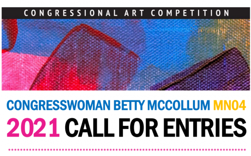 2021 Congressional Art Competition logo