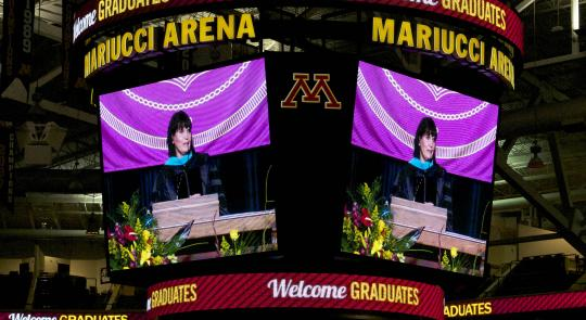 Congresswoman McCollum Guest Speaker at 2013 University of Minnesota CFANS Commencement Ceremony feature image