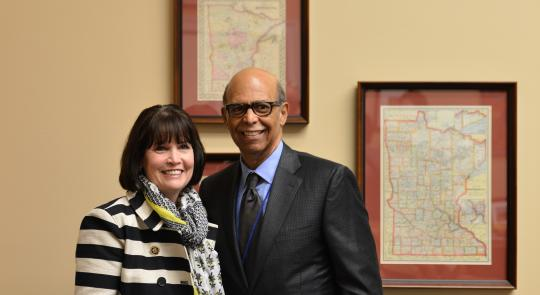 Rep. McCollum Meets with United Negro College Fund President and CEO Dr. Michael Lomax feature image