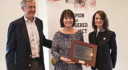 """Champion of the Endangered Species Act"" Awarded to Rep. McCollum feature image"