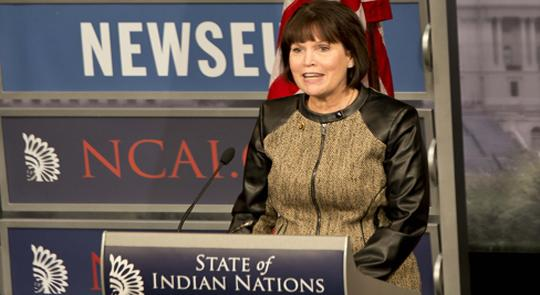 Congresswoman McCollum Delivers Congressional Response to State of Indian Nations feature image