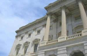 Exterior of the Capitol Building