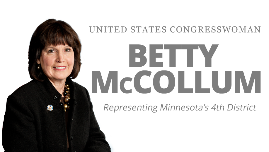 Congresswoman Betty McCollum